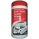 Anti-Static Screen Wipes -   Antistatické ubrousky na obrazovky